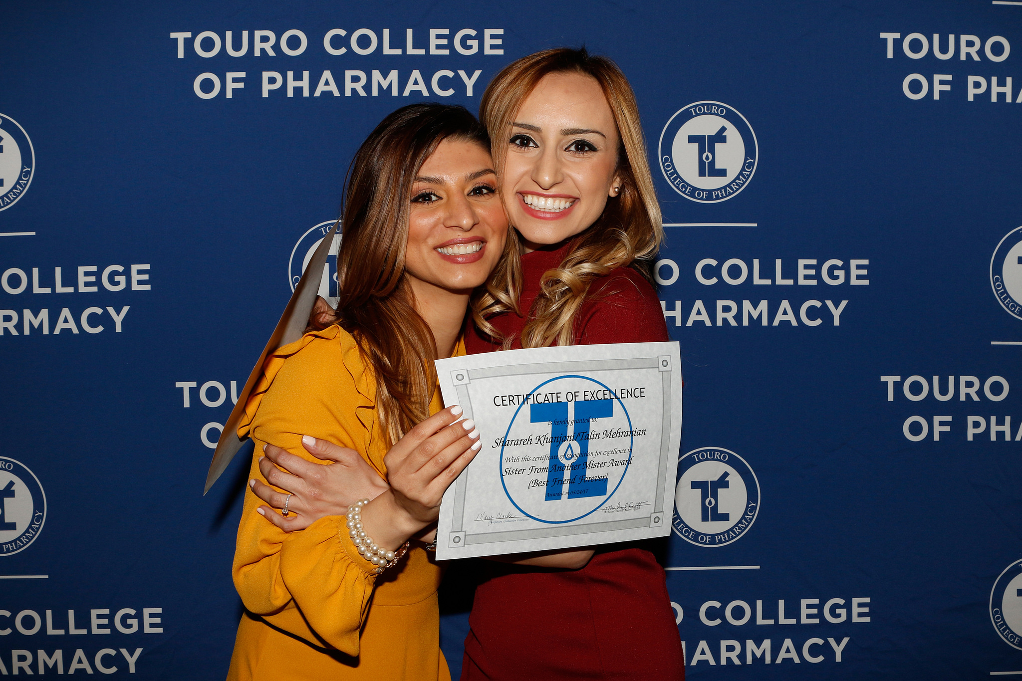 Touro College of Pharmacy held their annual banquet celebrating the class of 2017
