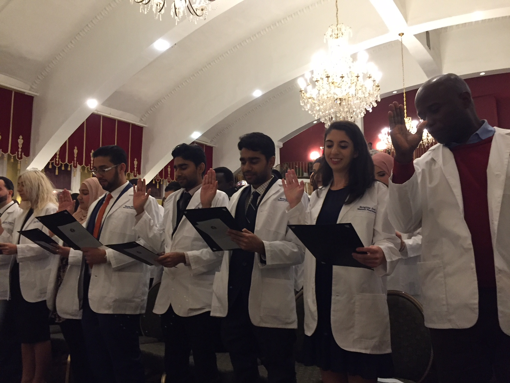 TCOP\'s class of 2021 donned their white coats on Nov. 16.