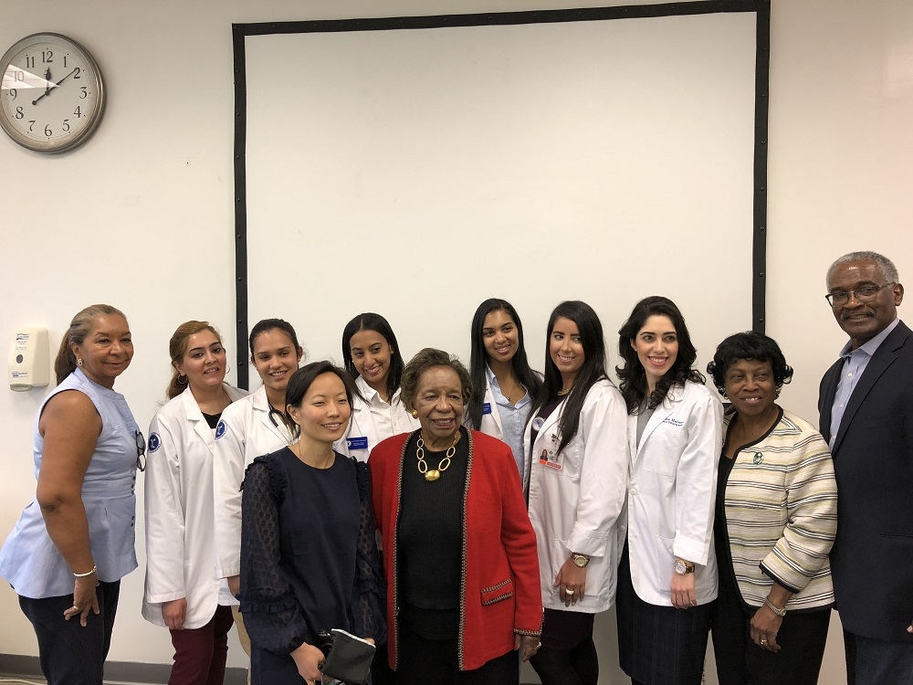 A group of 60 Harlem seniors visited TCOP for a day devoted to healthcare on April 27.