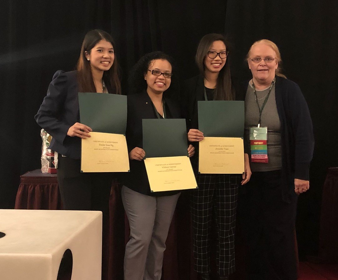 Three Touro College of Pharmacy (TCOP) students took second place at the Pharmacist Society of the State of New York Business Plan Competition.