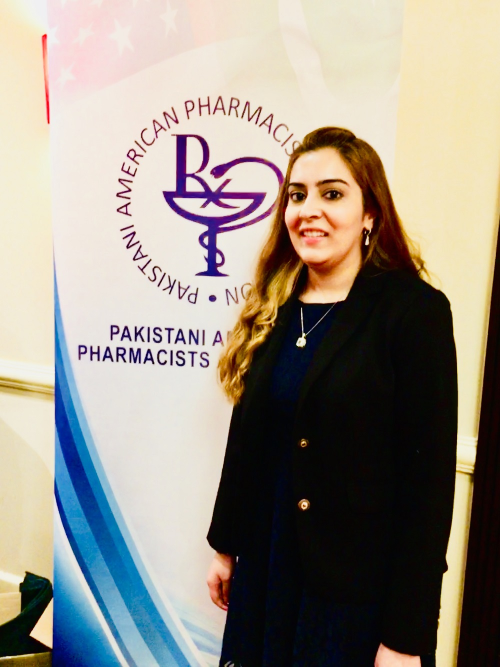 TCOP P3 Saera Murtaza was honored the Pakistani-American Pharmacists Association.