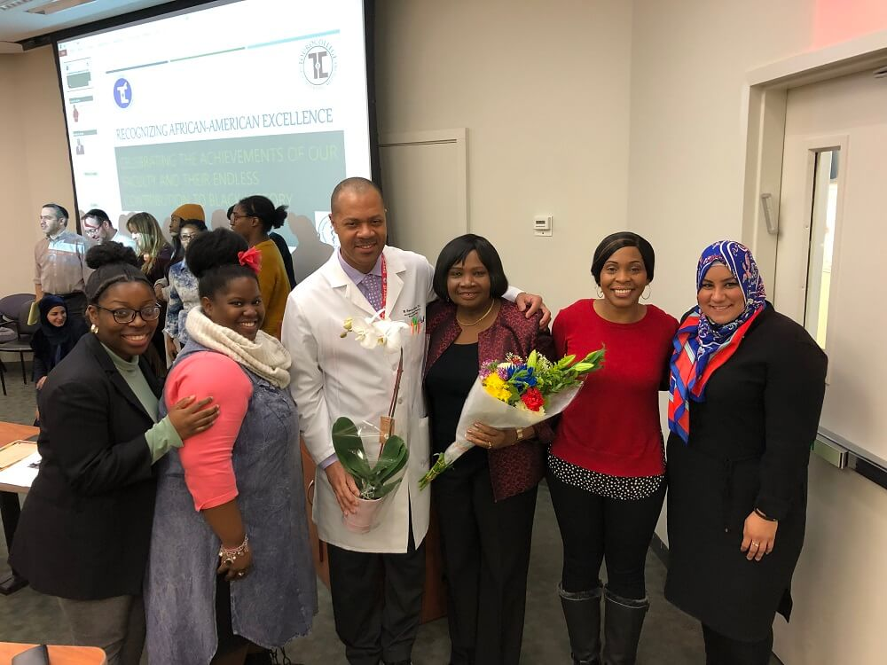 TCOP and TouroCOM honored two of their African American professors during Black History Month. Dr. Dr. Joyce Addo-Atuah and Dr. Melvin Esquire Anthony spoke about their respective journeys.