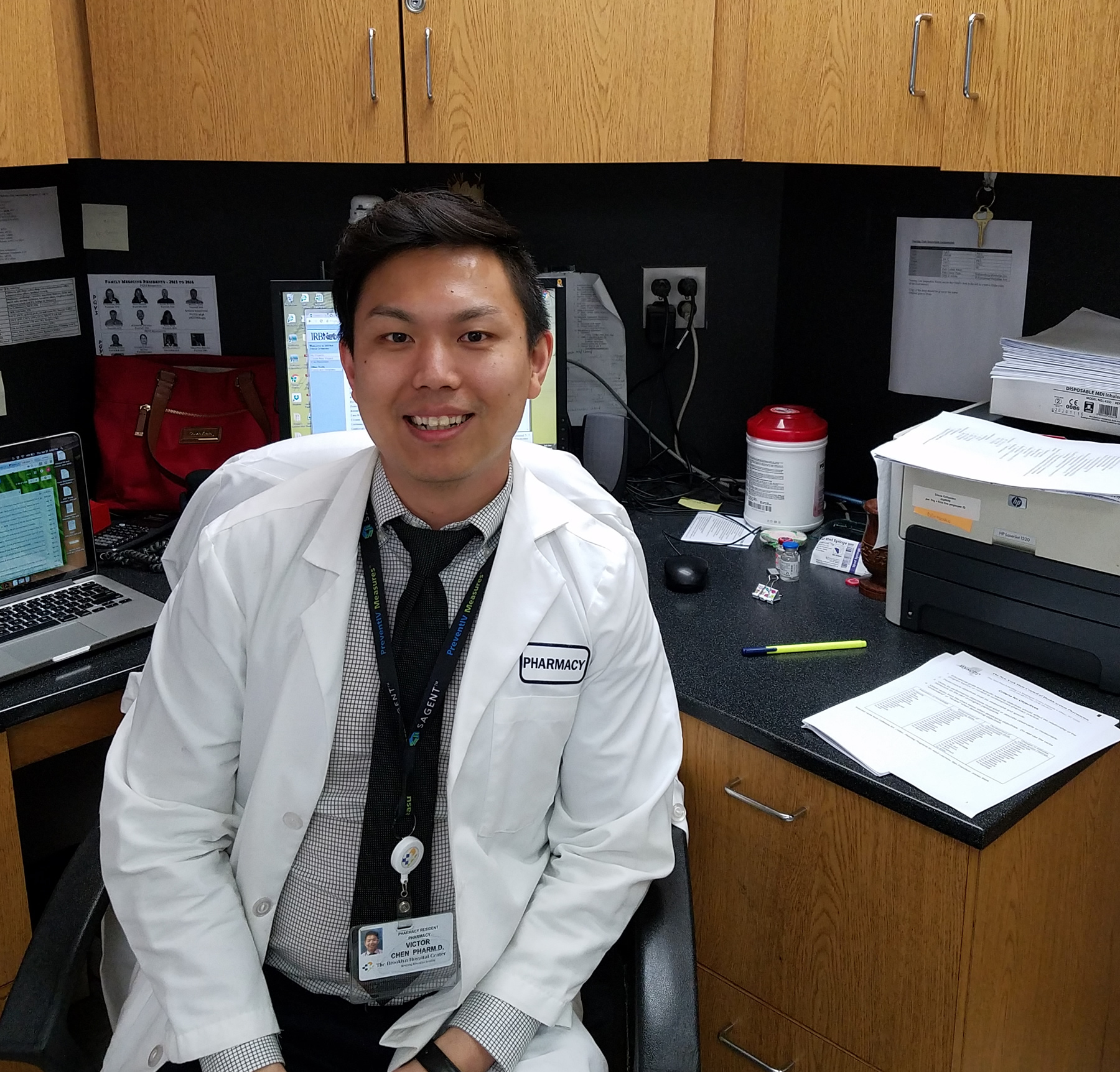 Victor Chen, Touro College of Pharmacy \'15