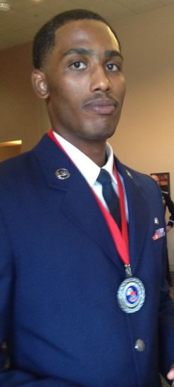 Touro College of Pharmacy student and Air Force veteran, William Jordan