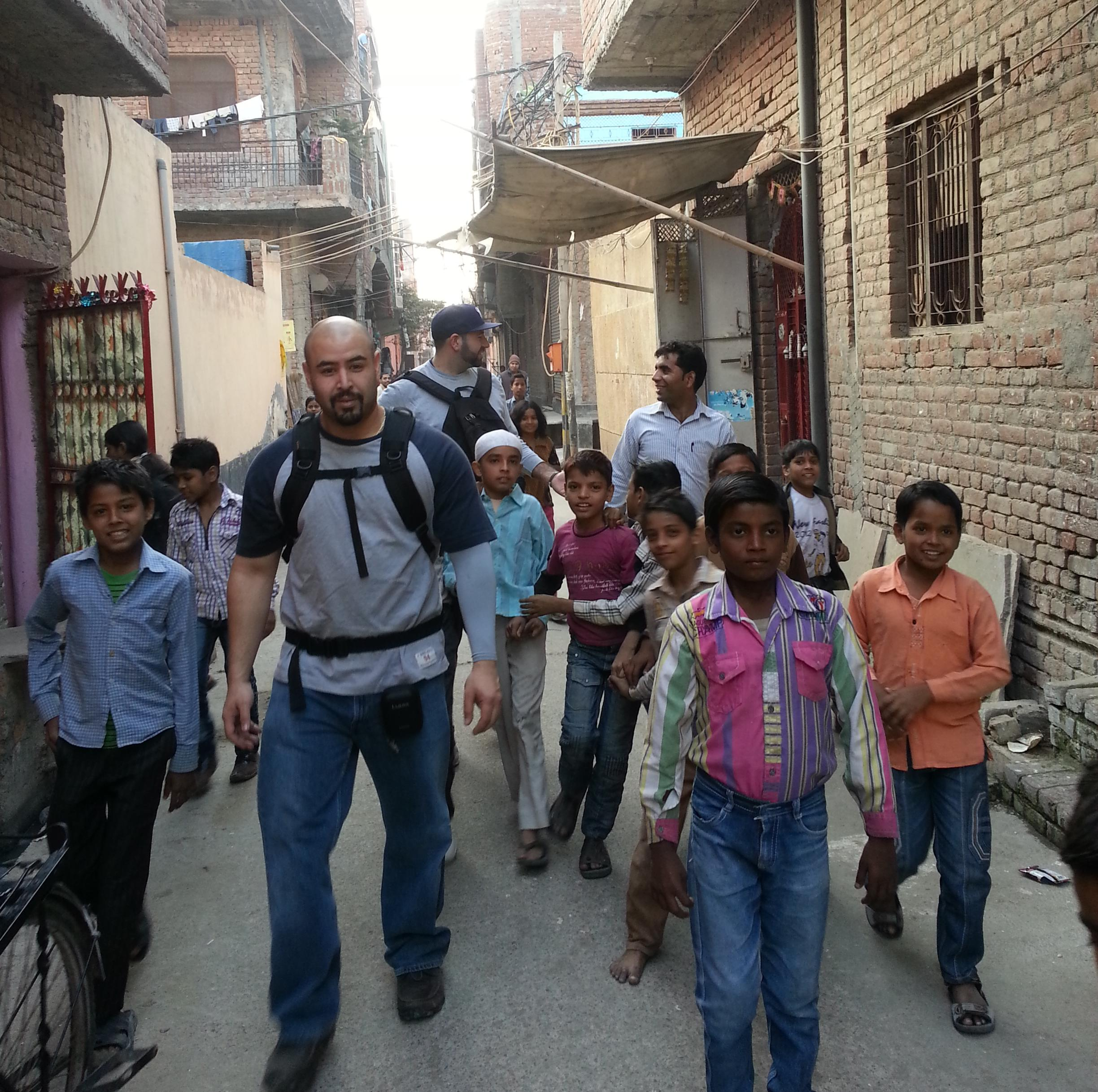 Touro College of Pharmacy students travel to India to provide healthcare in the slums.